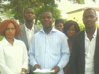 Les membres du bureau de la JURD